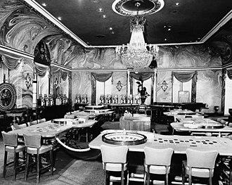 Hotel Nacional de Cuba - Casino in Hotel Nacional, October 1, 1958