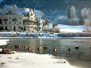 Alpsee - Hotel on Christmas Day 2006