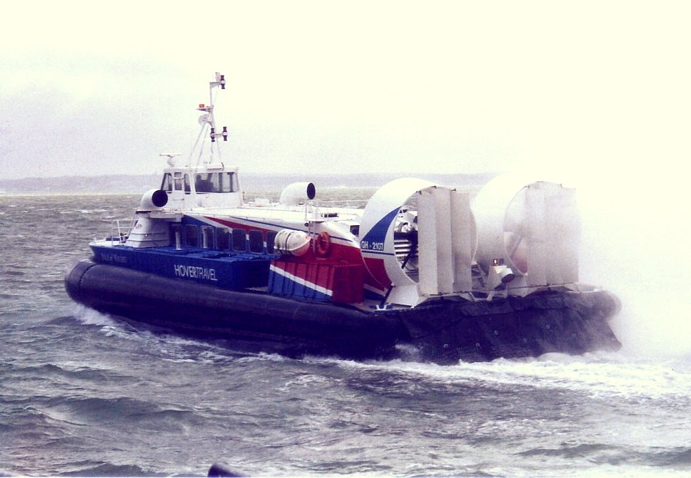 Hovercraft in Southsea