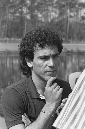 Pichichi Trophy - Image: Hugo Sánchez 1988