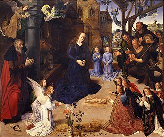 Leonardo da Vinci - The Portinari Altarpiece, by Hugo van der Goes for a Florentine family