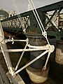 Hungerford Bridge - footbridge attachments - geograph.org.uk - 1030628.jpg