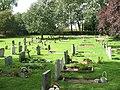 Hunsdonbury lower churchyard - geograph.org.uk - 1445405.jpg