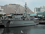 HMAS Huon, vedúca loď triedy Huon