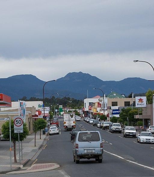 Huonville Main Street
