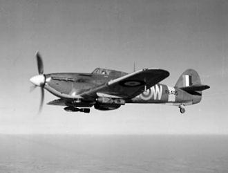 402 Squadron - A 402 Sqn Hurricane IIE, in 1941.