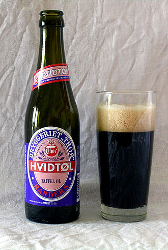 Beer in Denmark - A bottle of Hvidtøl