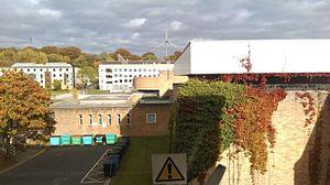 Bowland College, Lancaster - Image: IMAG10390hnfan
