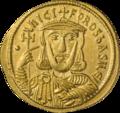 INC-1870-a Солид. Никифор I и его сын Ставракий. Ок. 803—811 гг. (аверс).png