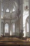 interieur, overzicht middenschip naar het koor - arnhem - 20260592 - rce