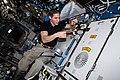 ISS-64 Hopkins using HUNCH Tape Dispenser.jpg