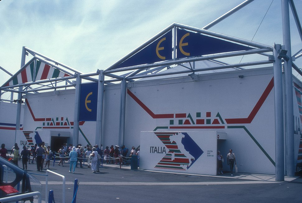 ITALIAN PAVILION AT EXPO 86, VANCOUVER, B.C.