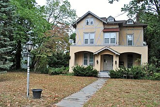 Emily Blackwell - Blackwell and Cushier's house in Montclair, NJ