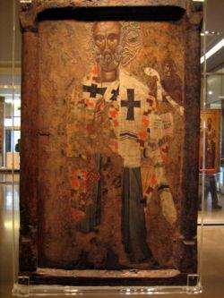 Ο Άγιος Νικόλαος, φορητή εικόνα του 15ου αιώνα, Βυζαντινό Μουσείο Αθηνών