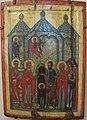 Icone, presentazione della madre di dio nel tempio, xv sec, novgorod.JPG
