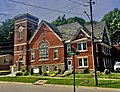 Iglesia Movimiento Pentecostés Arca de Salvación - former Chandler Street (aka First Swedish) Baptist Church - Jamestown, New York - 20200809.jpg