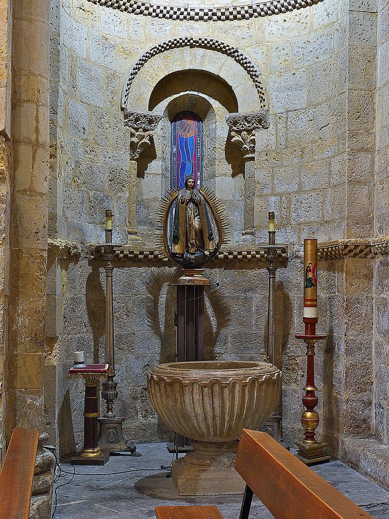 Iglesia de Nuestra Señora del Mercado (León). Capilla bautismal.jpg
