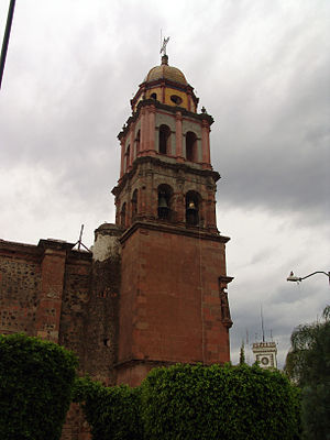 Ameca, Jalisco -  Parroquia de Santiago Apostol.