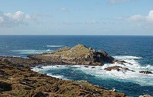 Muxía - Image: Illa do Castelo, Touriñán