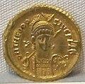 Impero d'oriente, teodosio II, emissione aurea, 402-450, 01.JPG