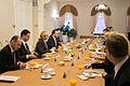 Ināra Mūrniece tiekas ar Gruzijas premjerministru (16049555240).jpg