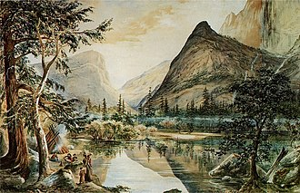 Constance Gordon-Cumming - Image: Indian Life at Mirror Lake 1878 by Constance Frederica Gordon Cumming