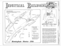 Industrial Railroads - Birmingham District Railroads, Birmingham, Jefferson County, AL HAER ALA,37-BIRM.V,3- (sheet 2 of 2).png