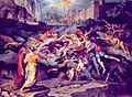 Inf. 06 Joseph Anton Kock, L'incontro di Dante e Virgilio con le anime di Paolo e Francesca, 1823.jpg
