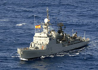 Cartagena Naval Base - ESPN Infanta Elena (P-76)