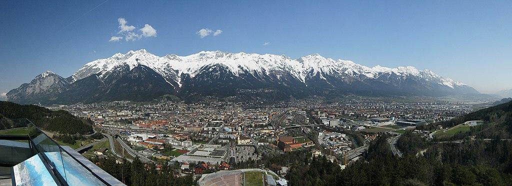 Innsbruck Panorama Nordkette (Karwendel)