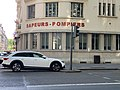 Inscription Sapeurs-Pompiers depuis l'Avenue de Saxe (Lyon).jpg