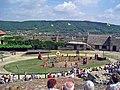 Inside3-Castle of Sümeg in Hungary.jpg