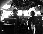 Inside the cockpit of a flying boat (23551477296).jpg