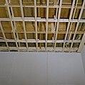 Interieur, begane grond, linker voorkamer, plafond, beschilderde moerbalken - 20000807 - RCE.jpg