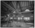 Interior, main lobby, view south - Lake Lodge, Southwest of Lake Junction, Lake, Teton County, WY HABS WYO,20-LAK,2A-7.tif