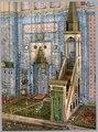 Interior of mosque Rüstem Paşa,Constantinople, Turkey LCCN2003653110.tif