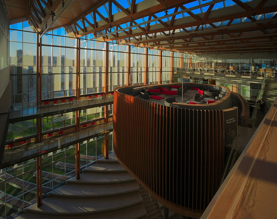 Interior of the UBC Student Union Building 13