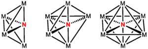 Metal nitrido complex - This series is known for M = Fe(CO)3.