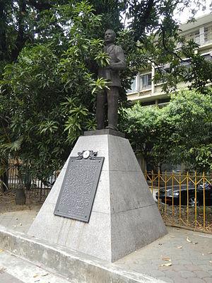 Graciano López Jaena - Monument, Intramuros, Manila
