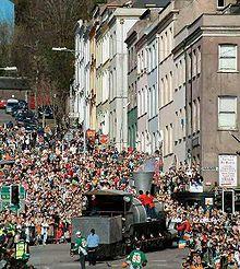 Festa di San Patrizio nel 2004 a Cork