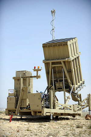 April 10, 2011 Pictured here is the Iron Dome ...
