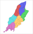 Isle of Man parishes by sheading.png