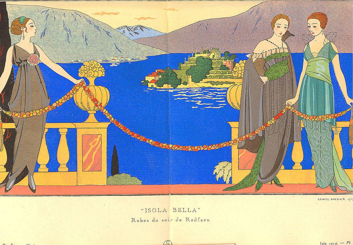 Georges Barbier. Ilustración de la revista