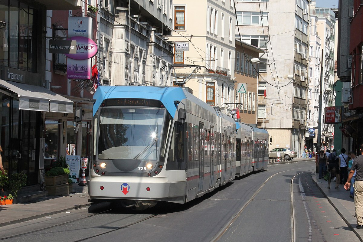 Tramway d'Istanbul — Wikipédia