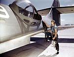 It's an intricate operation - installing a 30-calibre machine gun in a Navy PBY plane1a34894v.jpg
