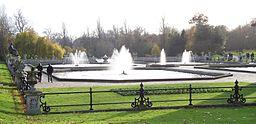 Italian Garden fountains