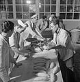 Italian Prisoners of War in Britain- Everyday Life at An Italian POW Camp, England, UK, 1945 D26764.jpg