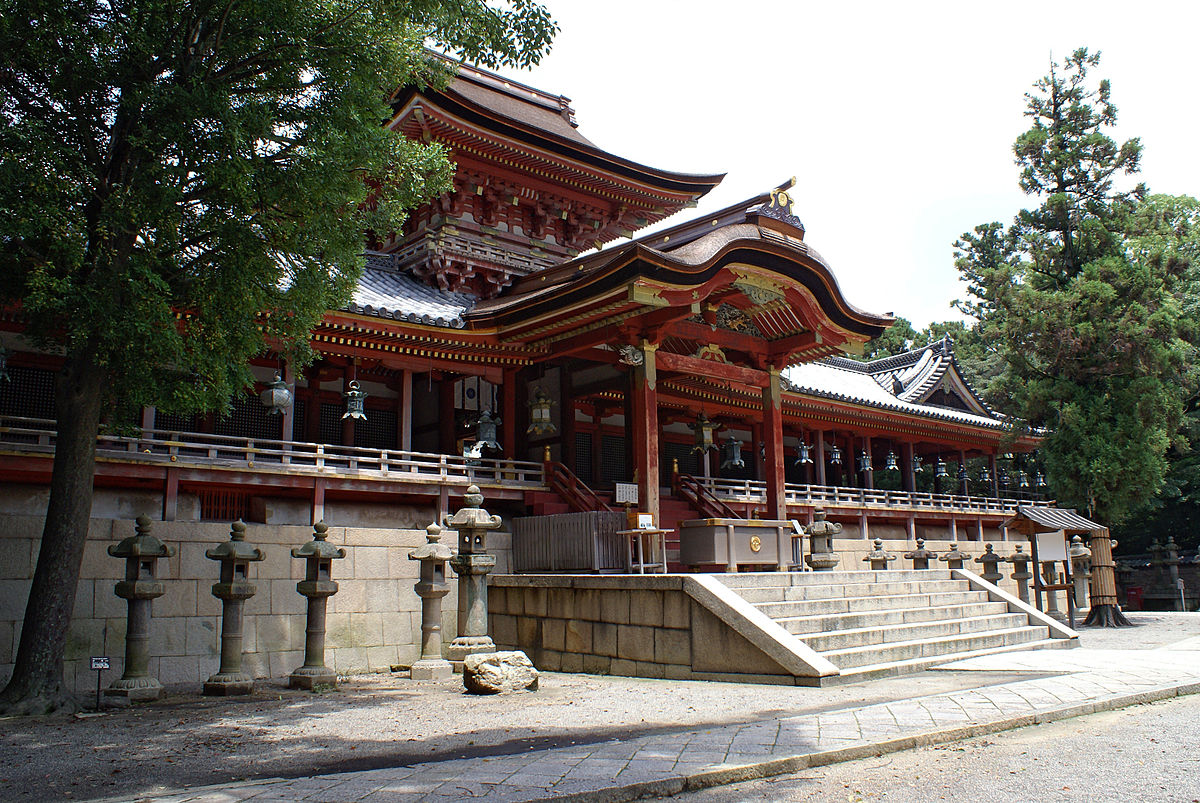 Hachiman shrine - Wikipedia