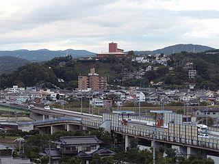 Izunokuni City in Chūbu, Japan