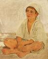 Jørgen Roed - Siddende neapolitansk dreng - 1838.png